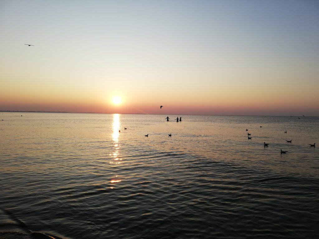zachód słońca międzyzdroje