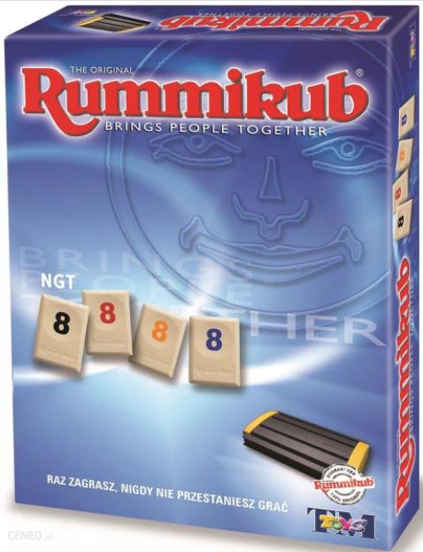 prezent dla podróżnika rummikub